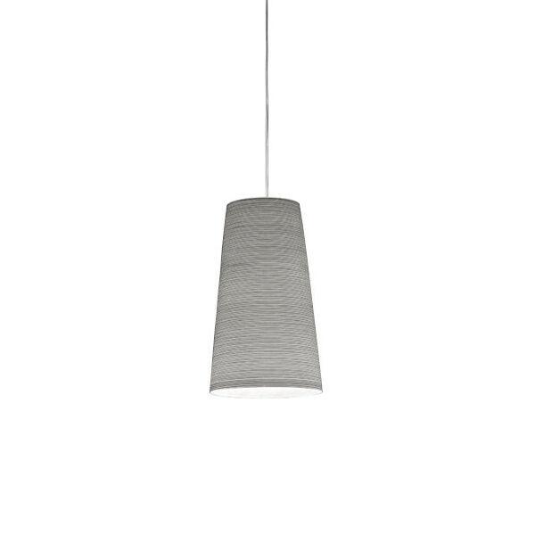 FOSCARINI lampe à suspension TITE 2 (Noir - tissu de verre, fibre de carbone et métal nickelé)