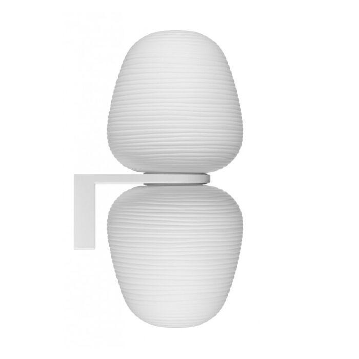 FOSCARINI lampe murale applique RITUALS 3 (Doppia - Verre soufflé et métal verni)