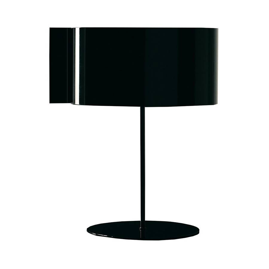 OLUCE lampe de table SWITCH (Noir - Métal)