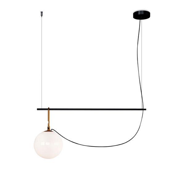 ARTEMIDE lampe à suspension NH1217 S2 22 (LED - verre soufflé et laiton)