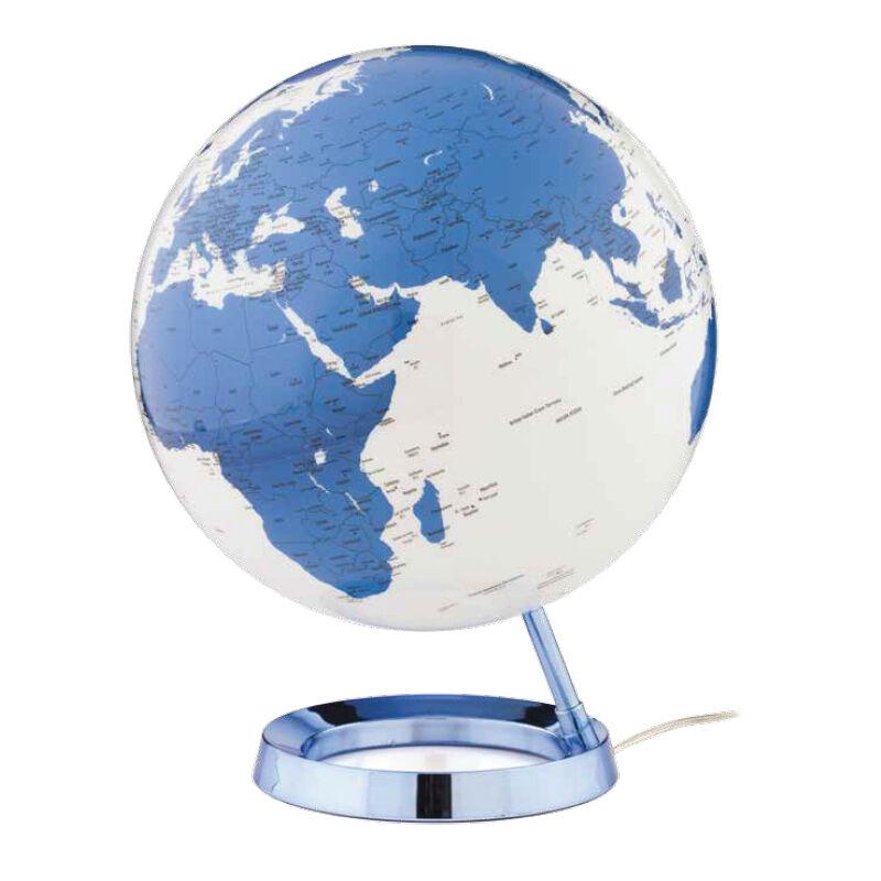 ATMOSPHERE lampe de bureau mappemonde LIGHT & COLOUR BRIGHT (Hot Blue - PMMA)
