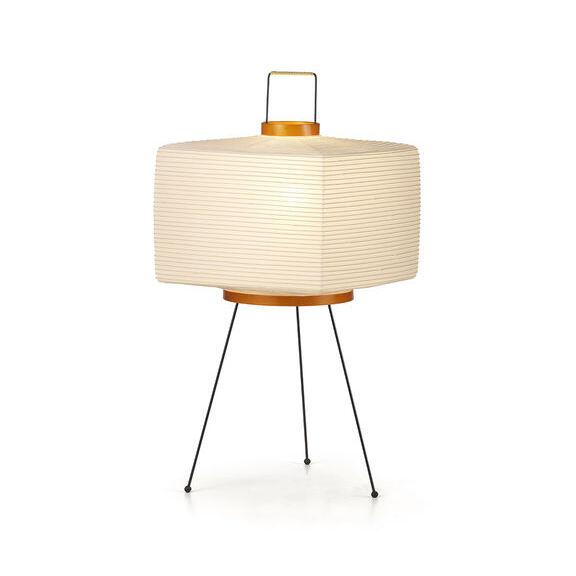 VITRA lampe de table AKARI 7A (7A - Paier de riz et fil d'acier verni)