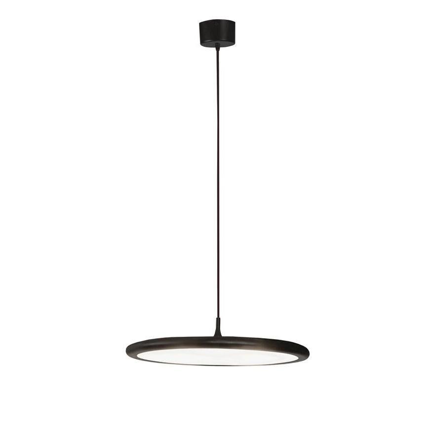 TOOY lampe à suspension BILANCELLA 512.21 (Noir - verre et métal)