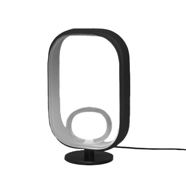 TOOY lampe de table FILIPA 555.31 (Variateur sur câble, gris sable - verre et métal)