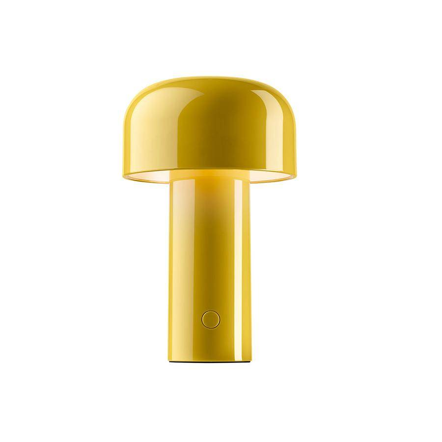 FLOS lampe de table sans fil rechargeable BELLHOP (Jaune - Polycarbonate)