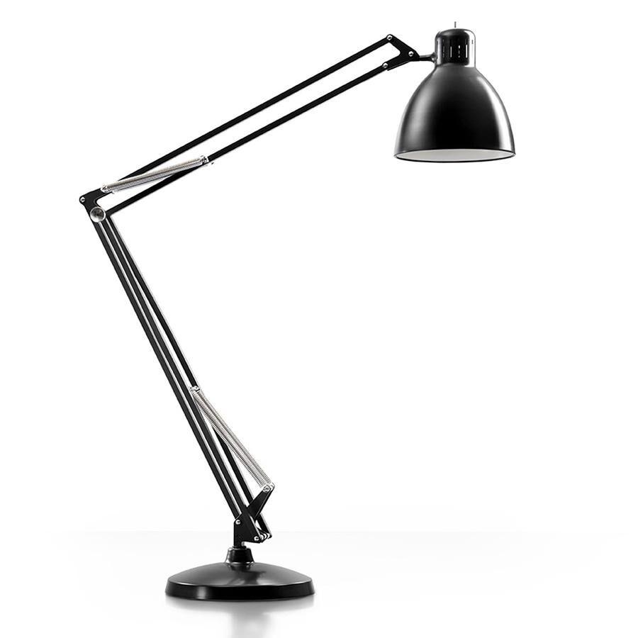LEUCOS lampadaire THE GREAT JJ (Noir mat - Aluminium)