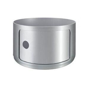 KARTELL table de chevet COMPONIBILI à un élément (Pas de couverture) (Silver H 23,50 cm - 4953 - ABS) - Publicité