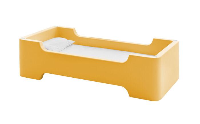 MAGIS lit pour enfants avec matelas BUNKY (Orange clair - Polyéthylène)