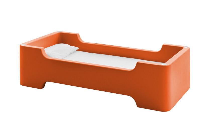 MAGIS lit pour enfants avec matelas BUNKY (Orange Foncé - Polyéthylène)