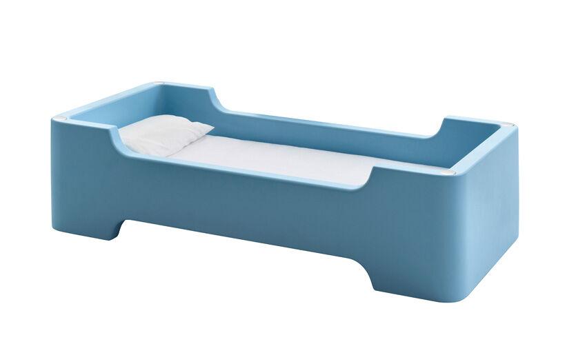 MAGIS lit pour enfants avec matelas BUNKY (Bleu clair - Polyéthylène)