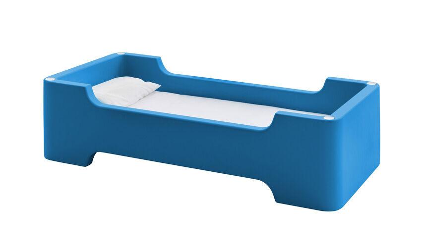 MAGIS lit pour enfants avec matelas BUNKY (Bleu foncé - Polyéthylène)
