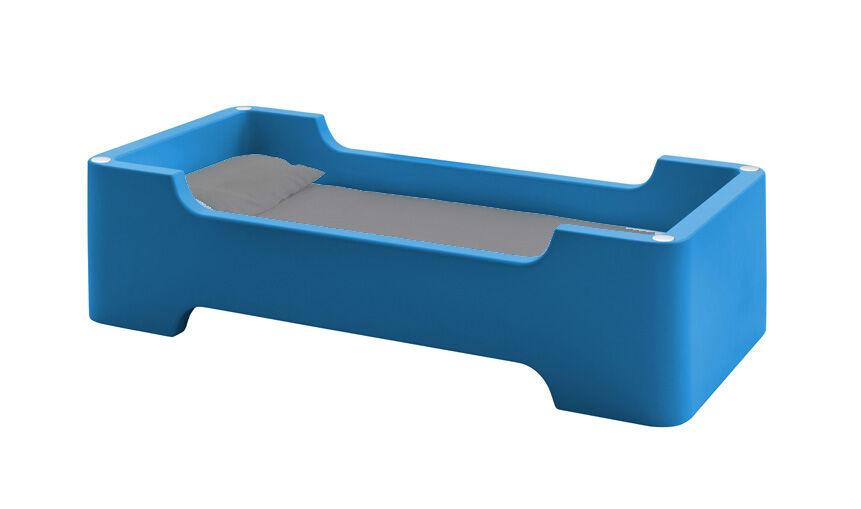 MAGIS lit pour enfants sans matelas BUNKY (Bleu foncé - Polyéthylène)