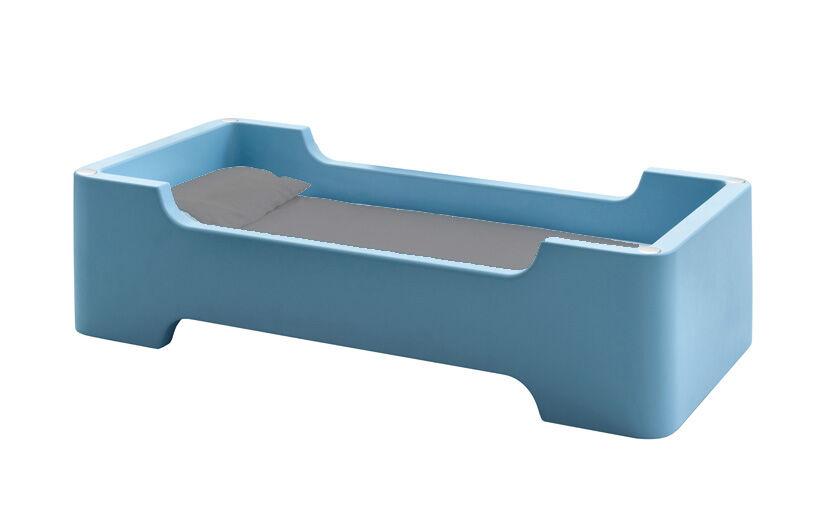 MAGIS lit pour enfants sans matelas BUNKY (Bleu clair - Polyéthylène)