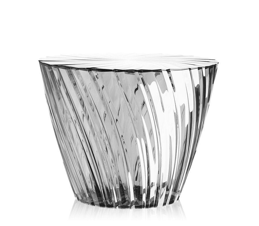 KARTELL table basse SPARKLE (Cristal - PMMA transparent)