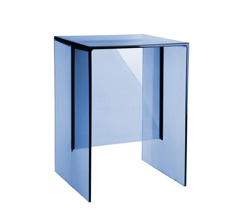 KARTELL by Laufen table tabouret MAX-BEAM (Bleu coucher de soleil - PMMA transparent)