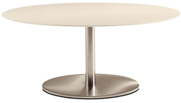 PEDRALI table ronde INOX ELLITTICO 4901 (L 180 cm - Acier Inox)