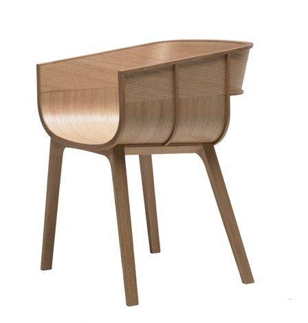 CASAMANIA fauteuil MARITIME (Chêne naturel - chêne massif et multi-couches)