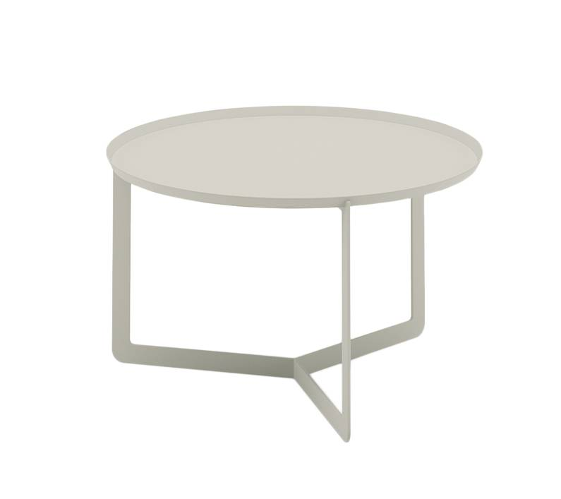 MEME DESIGN table basse ROUND 2 (Chanvre - Métal)
