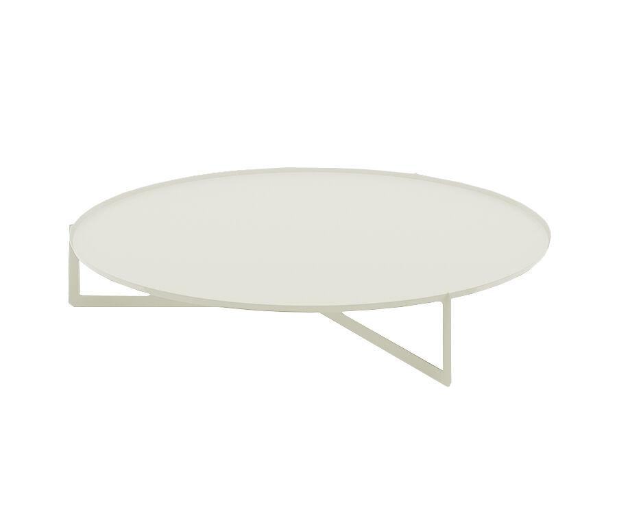 MEME DESIGN table basse ROUND 4 (Chanvre - Métal)