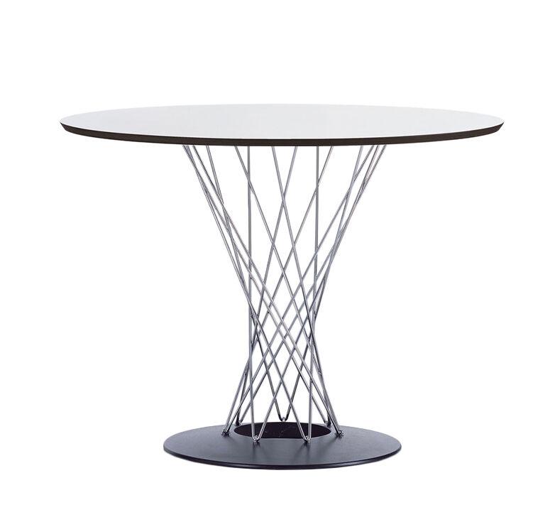 VITRA table ronde DINING TABLE (Ø 90 cm - Multi-couches et acier)