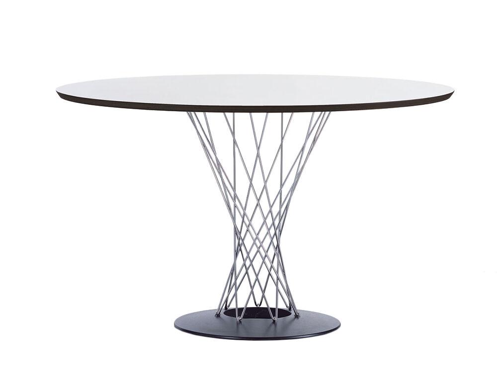 VITRA table ronde DINING TABLE (Ø 121 cm - Multi-couches et acier)