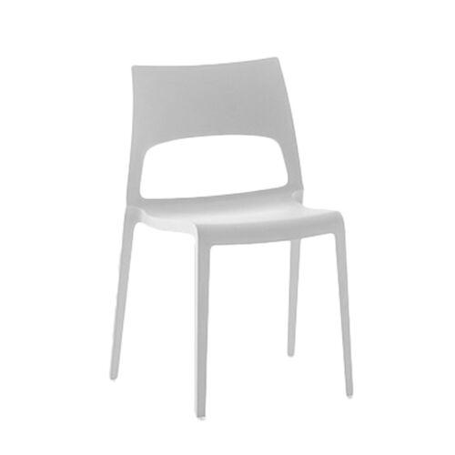 BONALDO set de 2 chaises IDOLE (Blanc - Polypropylène opaque)