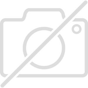 CLASSICON table BELL SIDE TABLE (gris quartz - Structure en métal noir, plateau en Cristal noir et base en verre soufflé)