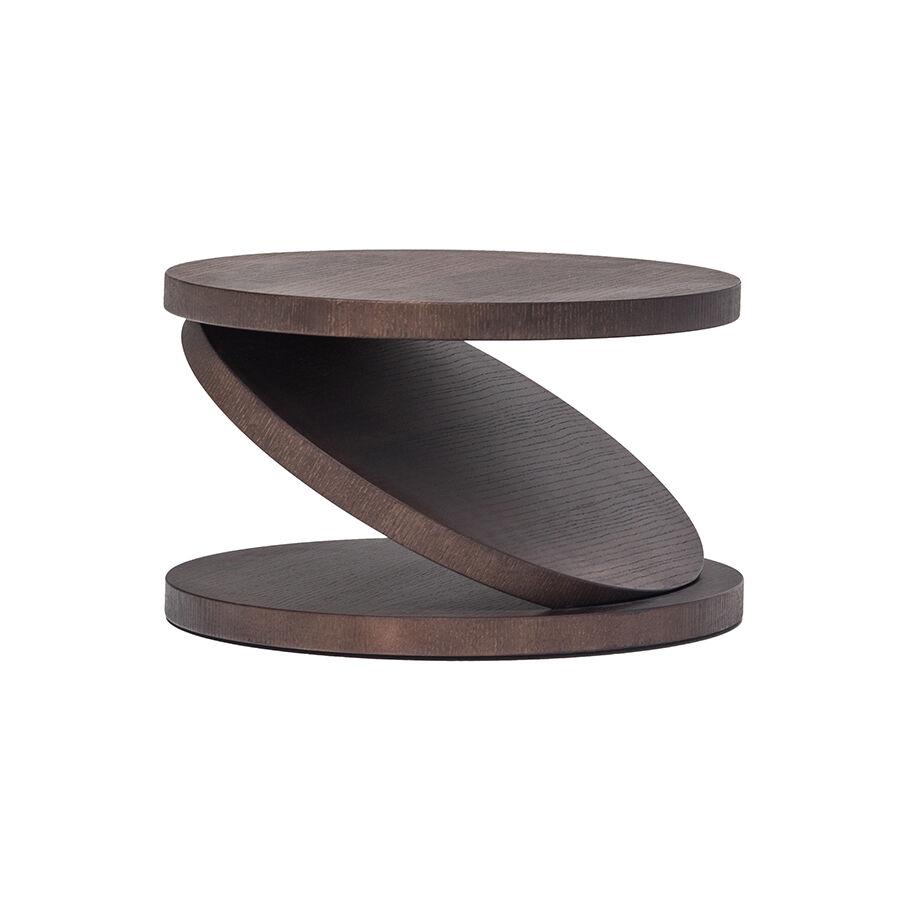 BALERI ITALIA table basse MATCH POINT (30° chêne thermo-traité - bois multi-couches palqué)