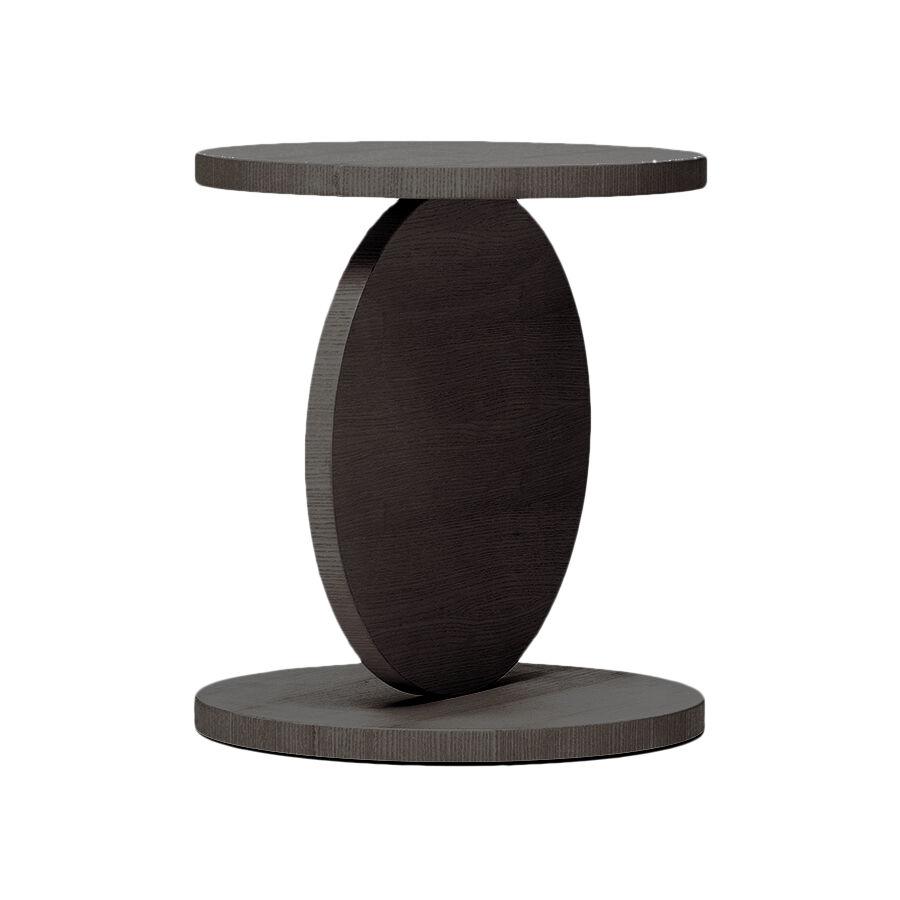 BALERI ITALIA table basse MATCH POINT (90° chêne thermo-traité - bois multi-couches palqué)