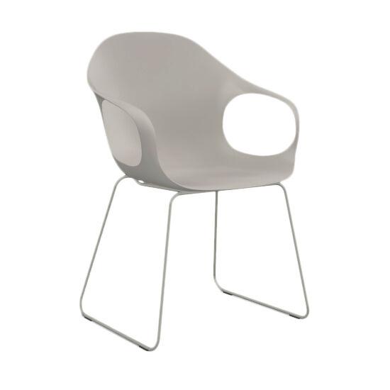KRISTALIA fauteuil avec luge ELEPHANT (Beige - acier verni et polyuréthane)