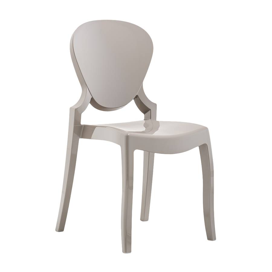 PEDRALI chaise QUEEN (Sable - Polycarbonate)