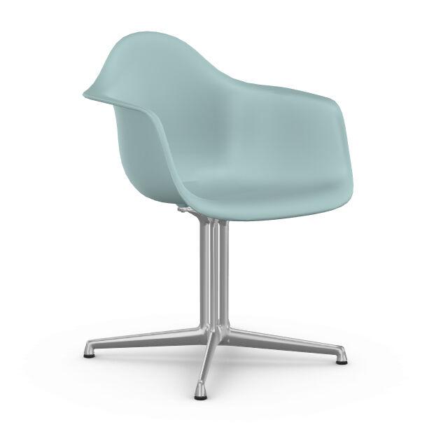 VITRA chaise fauteuil Eames Plastic Armchair DAL (Gris glace - Aluminium moulé sous pression / Polypropylène)