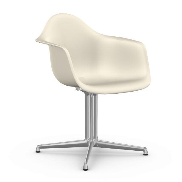 VITRA chaise fauteuil Eames Plastic Armchair DAL (Gallet - Aluminium moulé sous pression / Polypropylène)