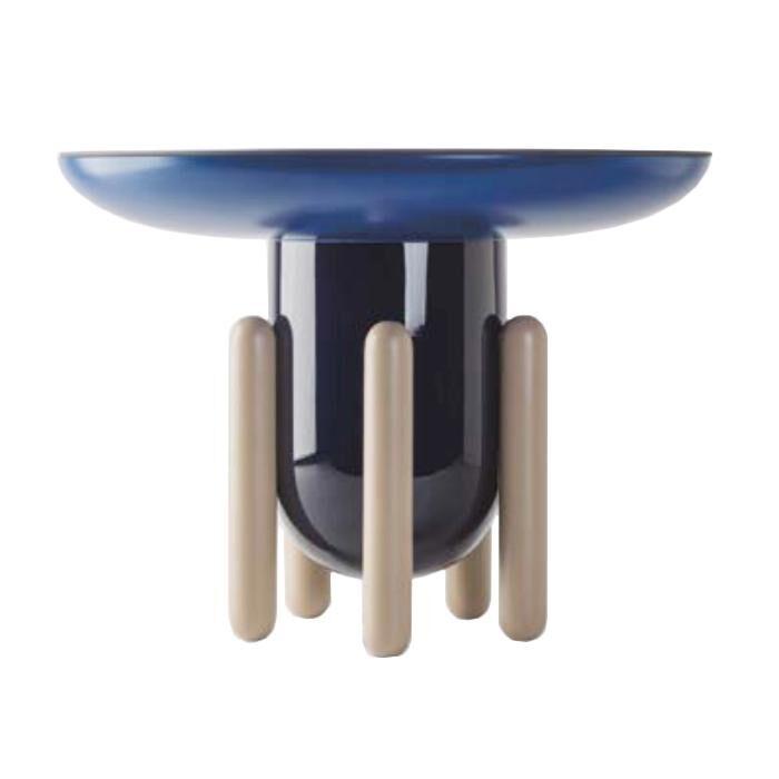 BD BARCELONA DESIGN table basse EXPLORER 2 (Multicolor version 1 - Bois, verre et fibre de verre)