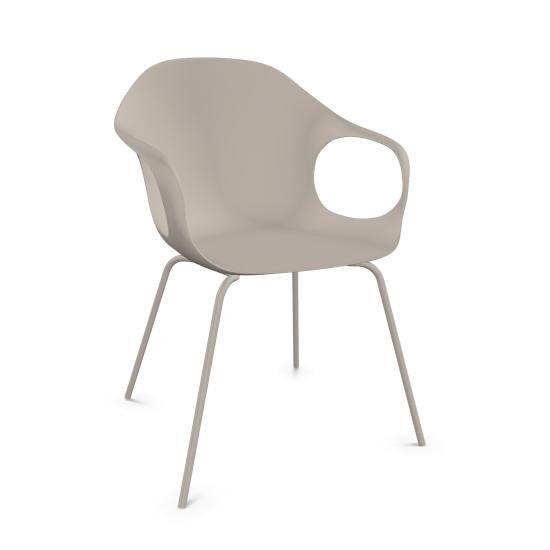 KRISTALIA fauteuil avec pieds ELEPHANT (Beige - acier verni et polyuréthane)