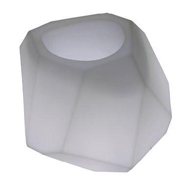 SLIDE vase lumineux SECRET LIGHT (Blanc - Polyéthylène)