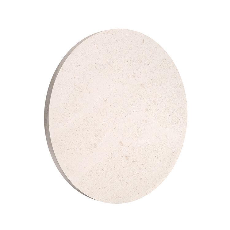 FLOS OUTDOOR lampe murale applique pour extérieur CAMOUFLAGE 240 3000K (Pierre crème d'orcia - aluminium et polycarbonate)