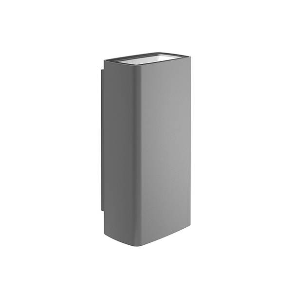 FLOS OUTDOOR lampe murale applique pour extérieur CLIMBER 87 UP & DOWN FLOOD (Anthracite 3000K - aluminium et verre)