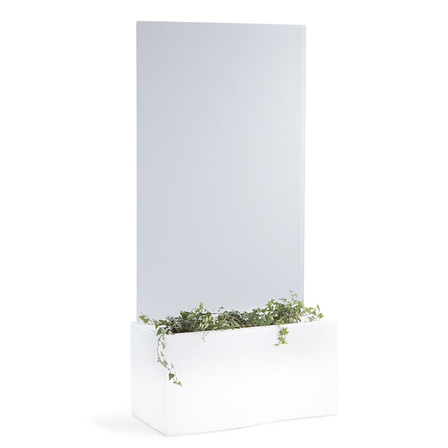 SLIDE vase lumineux PRIVÉ (H 160 cm - polyéthylène et plexiglass traité à l'acide)