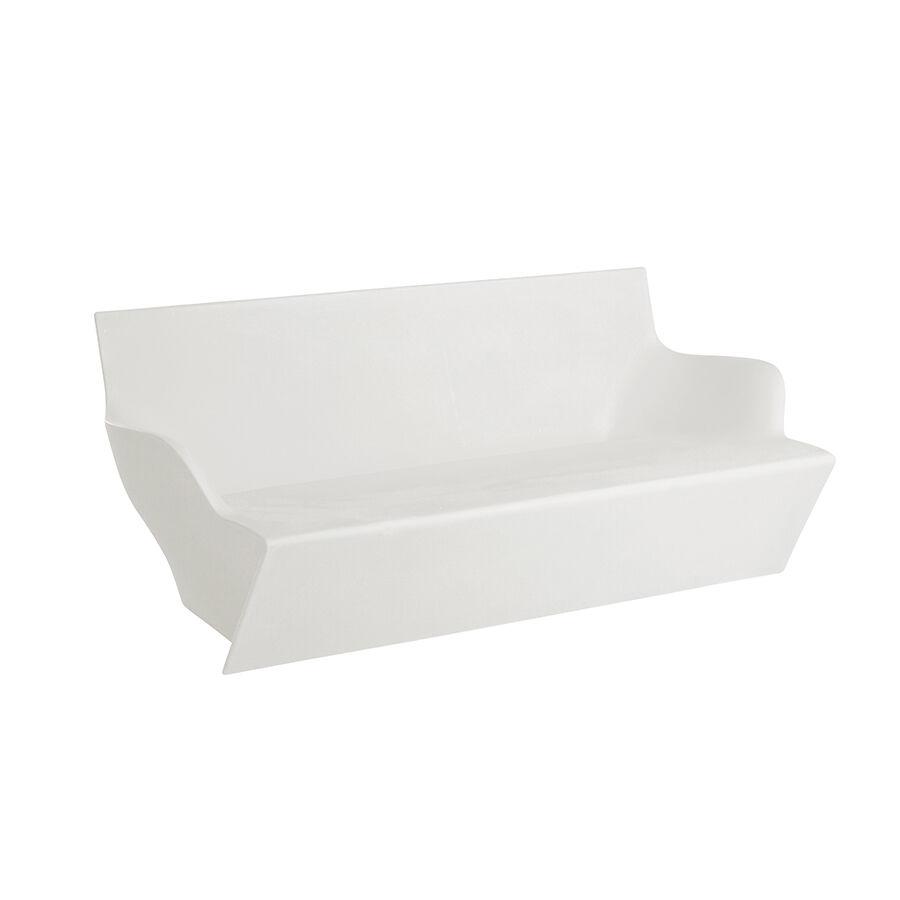 SLIDE canapé pour extérieur KAMI YON (Blanc lait - Polyéthylène)