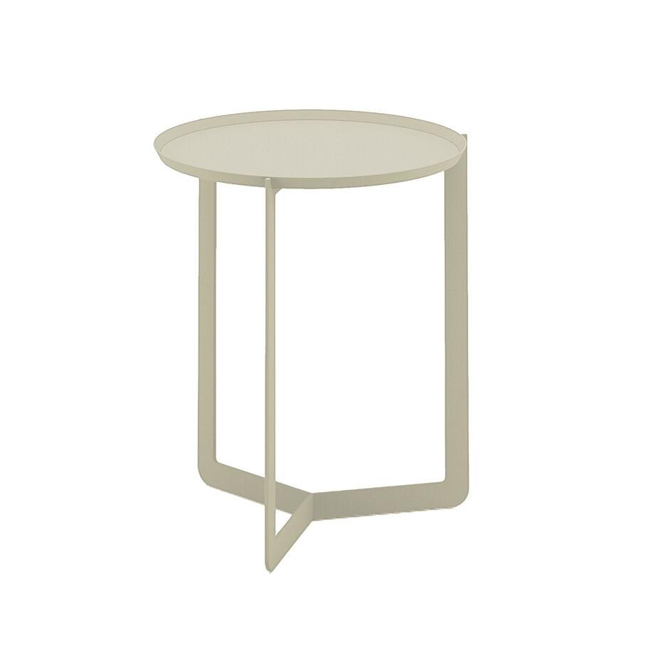 MEME DESIGN table basse pour extérieur ROUND 1 OUTDOOR (Chanvre - Métal)