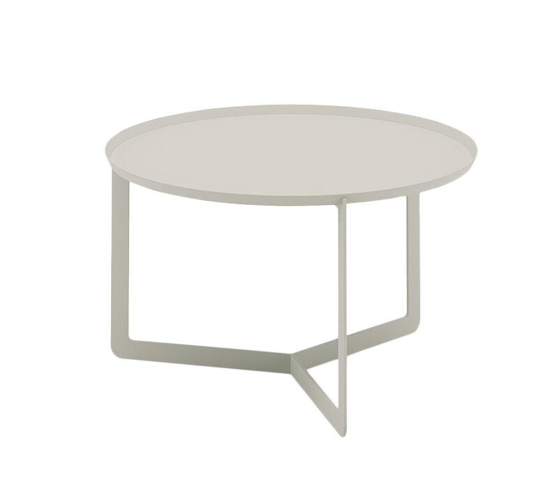 MEME DESIGN table basse pour extérieur ROUND 2 OUTDOOR (Chanvre - Métal)