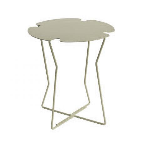 MEME DESIGN table basse pour extérieur COROLLA OUTDOOR (Chanvre - Métal)