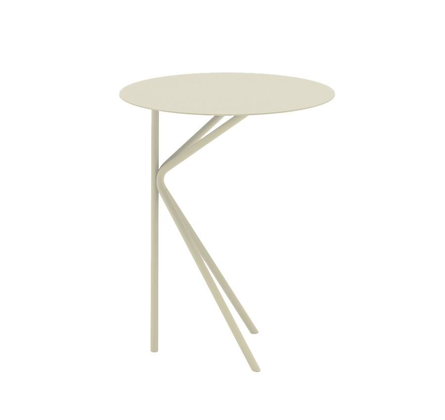 MEME DESIGN table basse pour extérieur TWIN ALTO OUTDOOR (Chanvre - Métal)