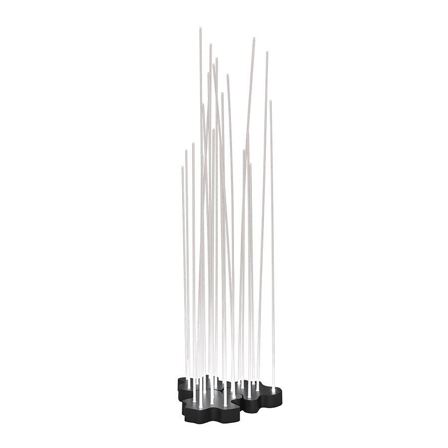 ARTEMIDE lampadaire REEDS IP67 pour l'extérieur (Tripler - Technopolymère, aluminium, ABS)