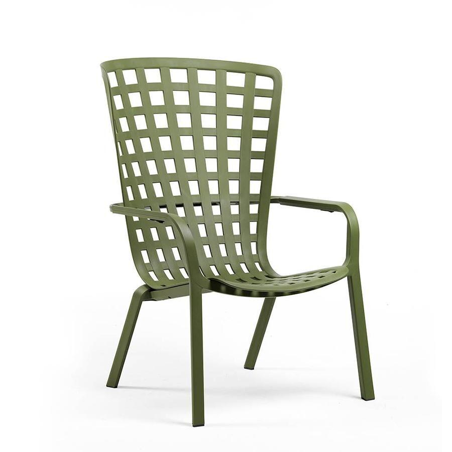 NARDI GARDEN NARDI fauteuil pour l'extérieur FOLIO (Agave - Polypropylène PRV)