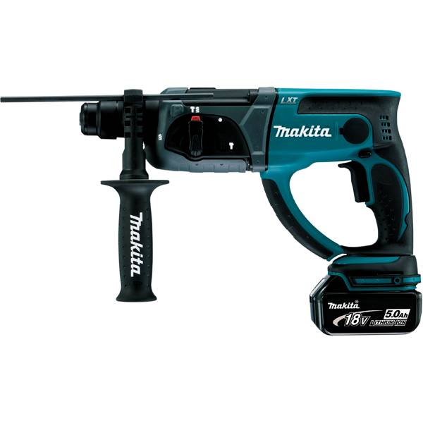 MAKITA Perforateur burineur SDS-Plus 18 V Li-Ion 5 Ah 20 mm Makita DHR202RTJ