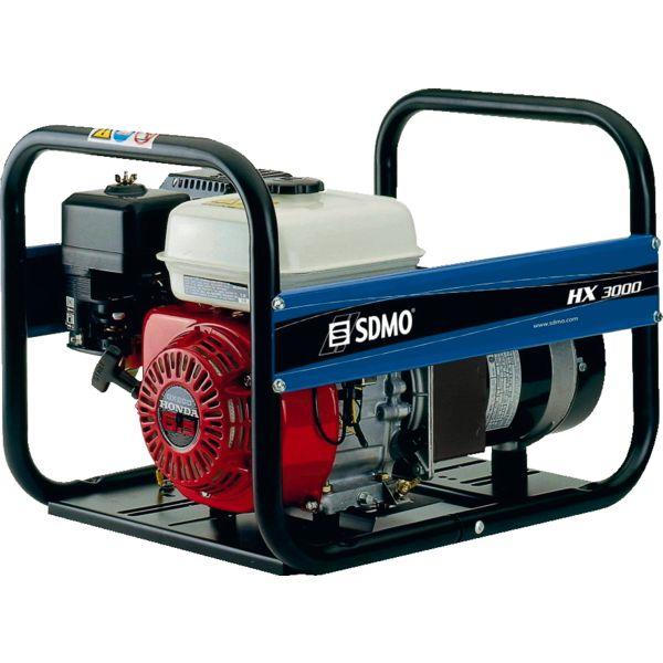 SDMO Groupe électrogène mono 3kW 3.75kVA Honda OHV 41 kg HX3000