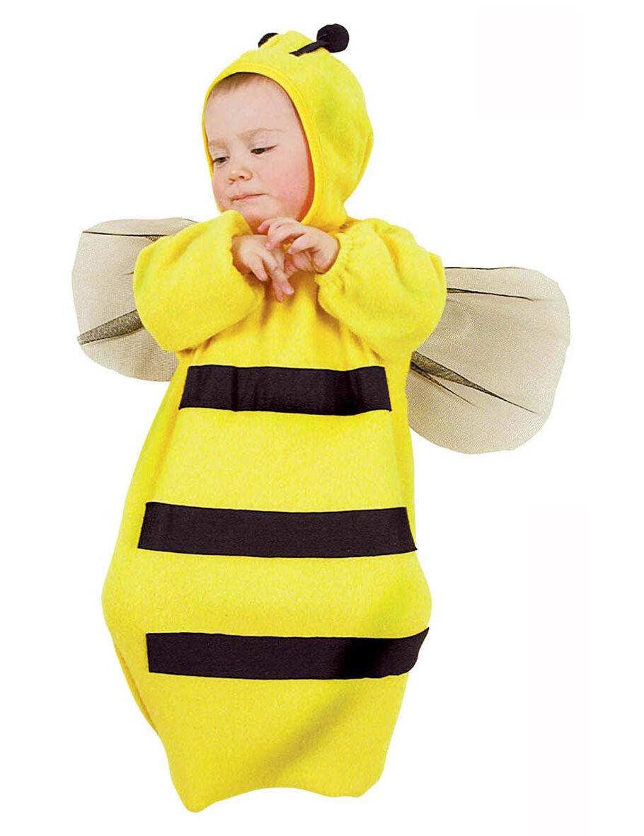 Deguisetoi Déguisement abeille bébé - Taille: 6-9 mois (69/74 cm)