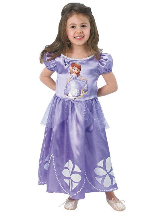 Deguisetoi Déguisement classique Princesse Sofia Disney fille - Taille: 5 à 6 ans (105 à 116 cm)